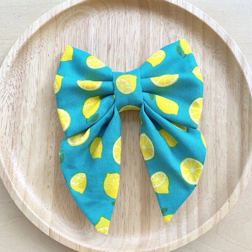 LEMON DROP - SAILOR BOW
