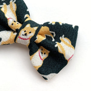 CHIRIMEN SHIBA - GREEN  // READY TO SHIP