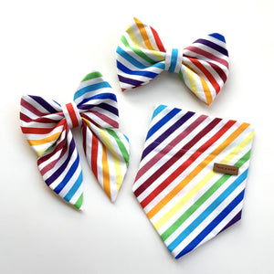 RAINBOW STRIPES - BANDANA