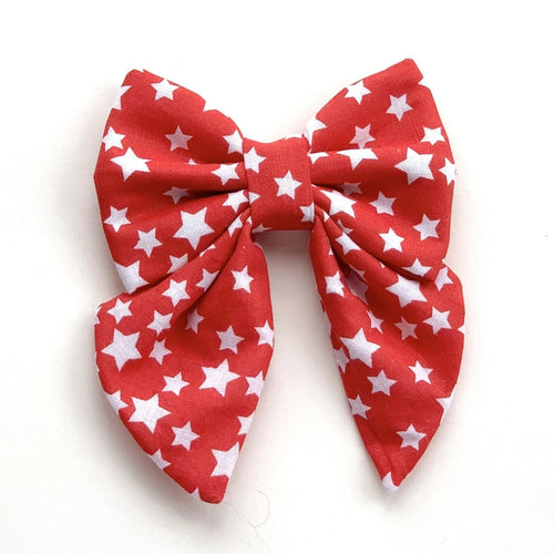 RED STARS - SAILOR BOW