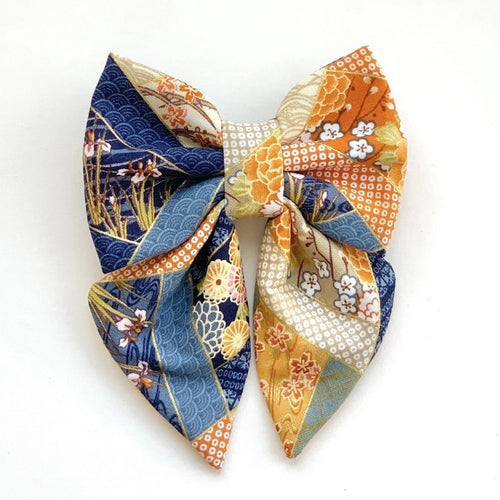 MIYAKO - BLUE - SAILOR BOW