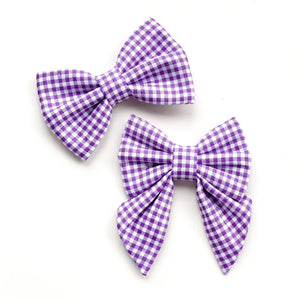 PICNIC PURPLE - SAILOR BOW