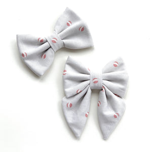 SQUEAKY BALL - SAILOR BOW // READY TO SHIP