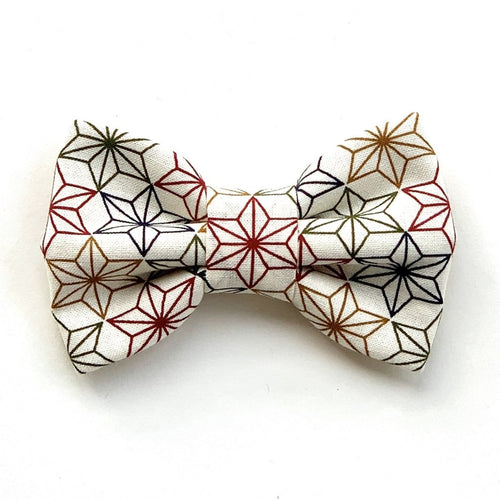ASANOHA RAINBOW - Bowtie Standard // READY TO SHIP