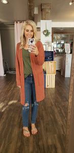 Copper or Wine Cardi