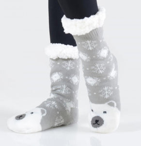 Winter Fuzzy Socks