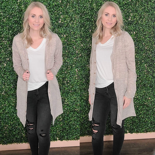 Belize Button Down Cardigan