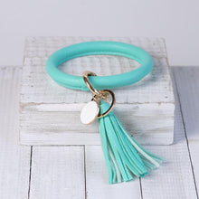 Load image into Gallery viewer, Tassel Bracelet Keyring