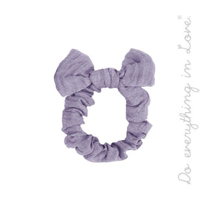 Knotted Hair Scrunchie
