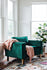 green velvet albany park gold legs accent chair