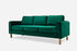 green velvet sofa gold legs