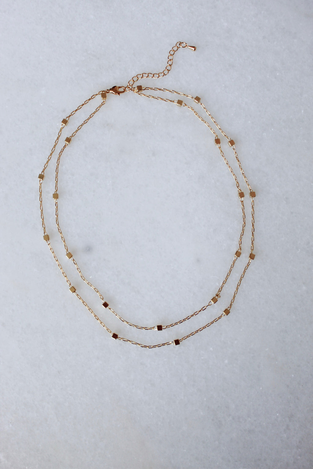 Simple Layer Necklace