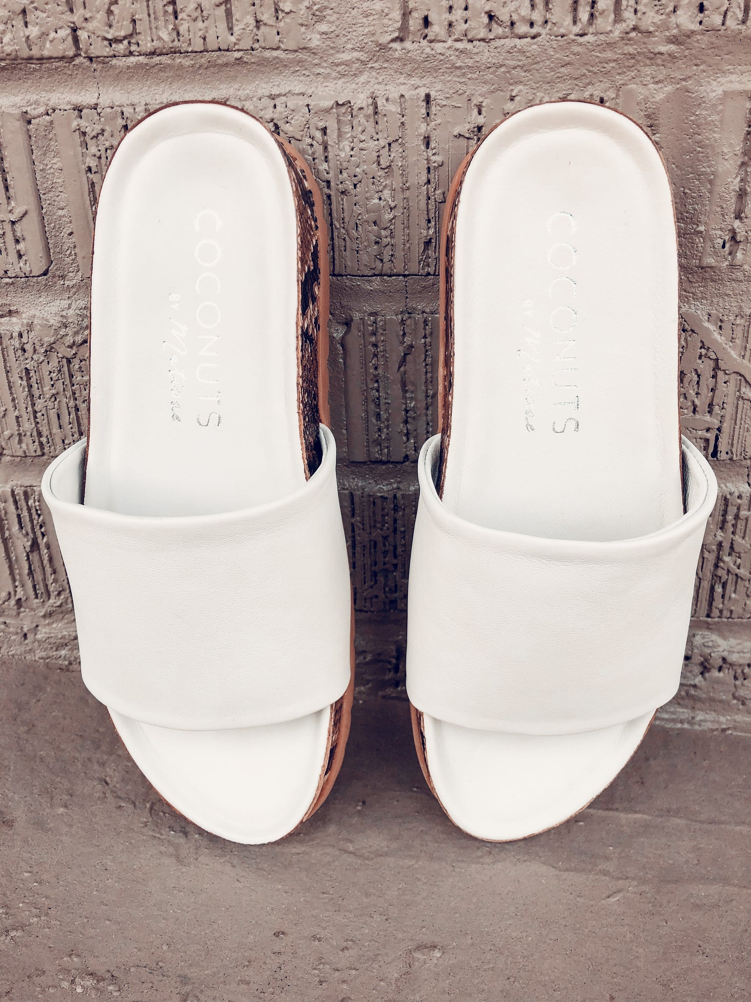 White Shift Slides