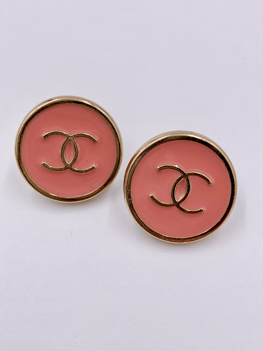 Chanel Sleek Sherbert Studs