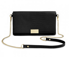 Load image into Gallery viewer, Celine Faux Croc Crossbody Purse