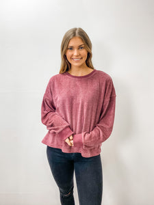 Plum Delightful Top
