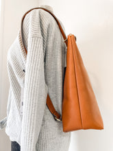 Load image into Gallery viewer, Brooke Backpack Cognac