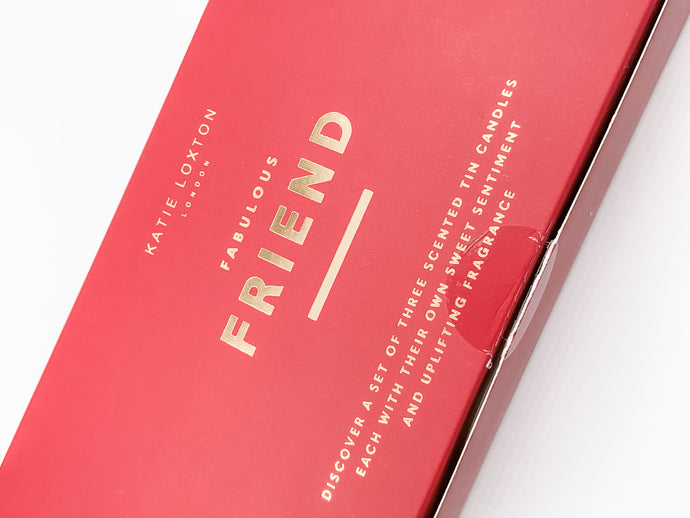 Fabulous Friend Trio Candle Gift Box