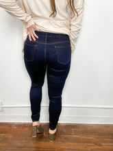Load image into Gallery viewer, Hilary Pure Blue Skinny Jeans