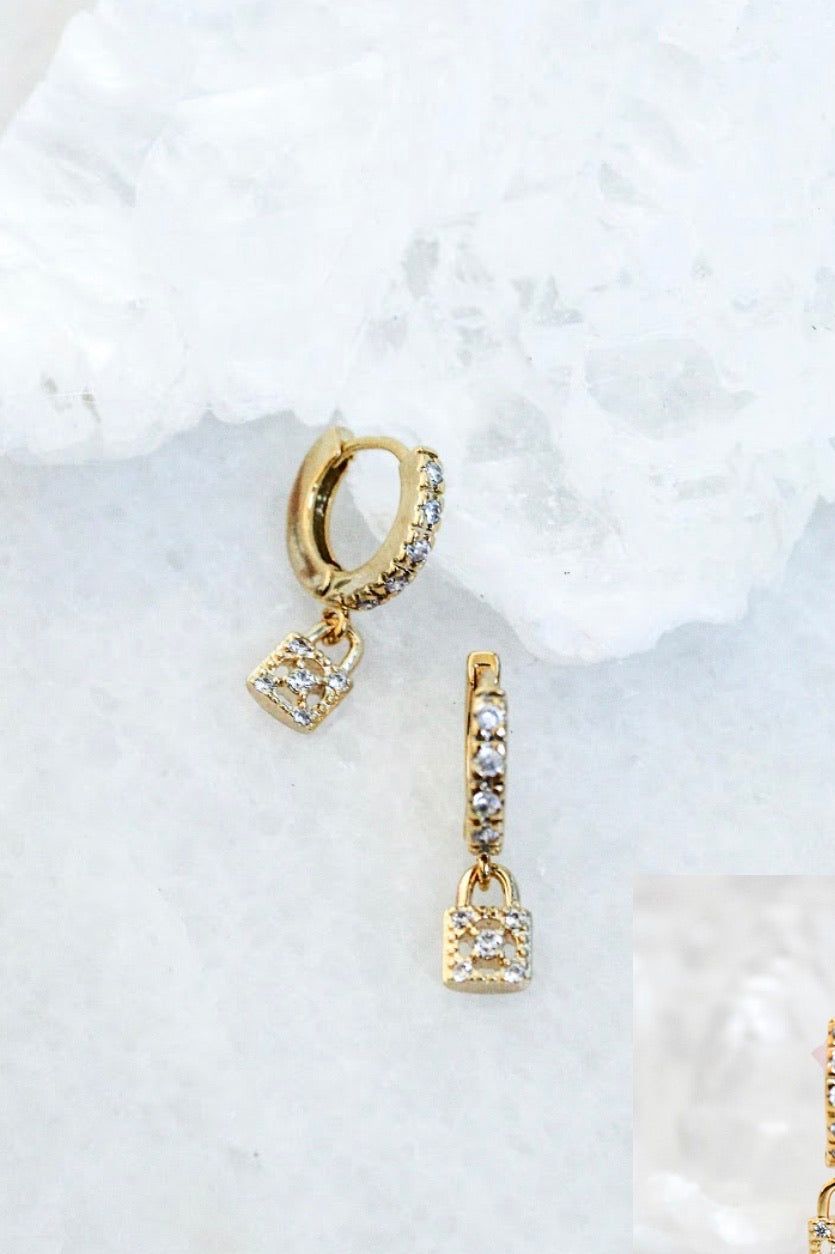 Laucke Huggie Earrings