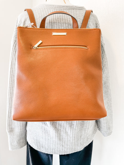 Brooke Backpack Cognac