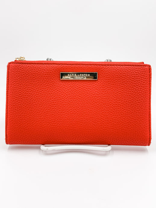 Tassel Wallet Red