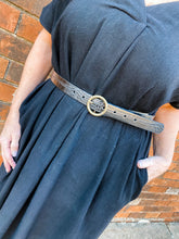 Load image into Gallery viewer, Dylan Leather Croc Belt