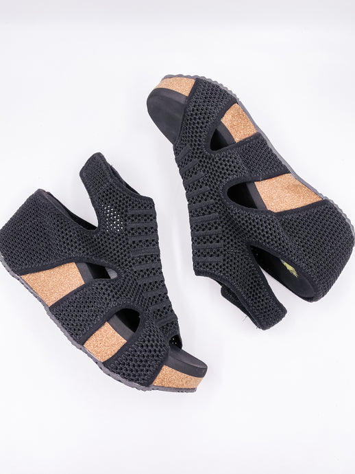 Chalet Mesh Wedge Shoe