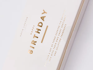 Happy Birthday Trio Candle Gift Box