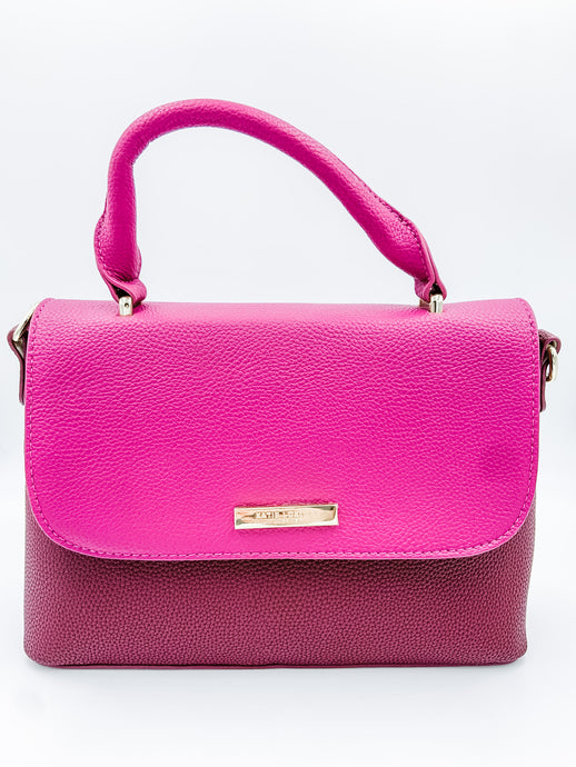 Talia Two Tone Messenger Purse
