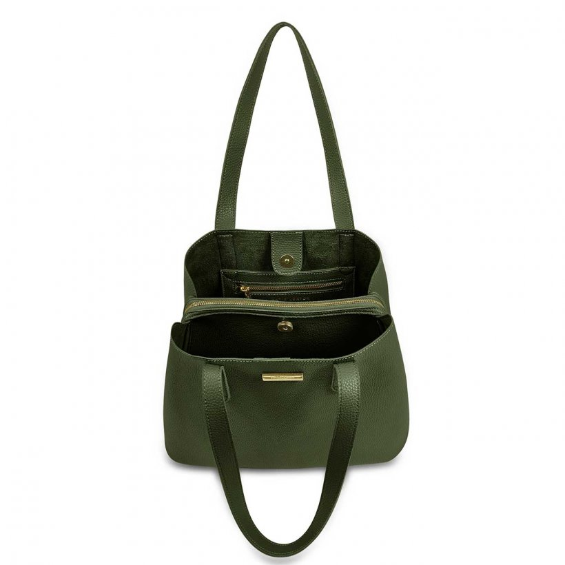 Riley Shoulder Purse Khaki