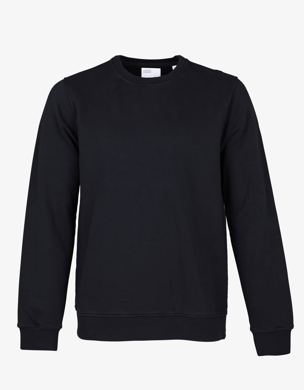 Colorful Standard Classic Organic Crew Crewneck Deep Black