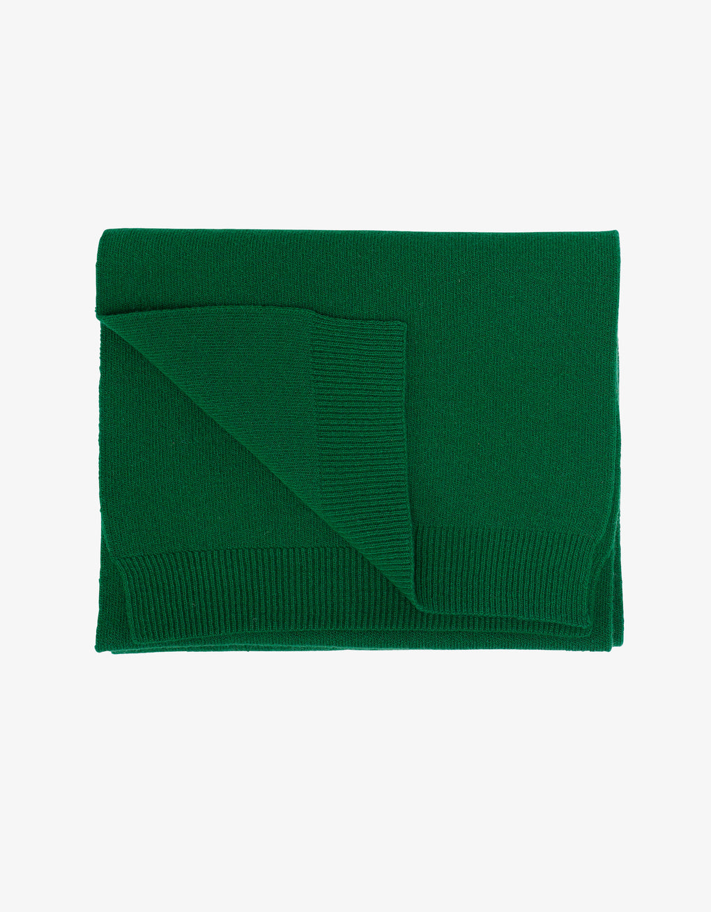 Colorful Standard Merino Wool Scarf Scarf Kelly Green