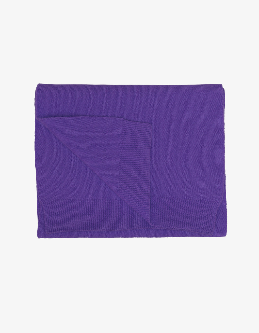 Colorful Standard Merino Wool Scarf Scarf Ultra Violet