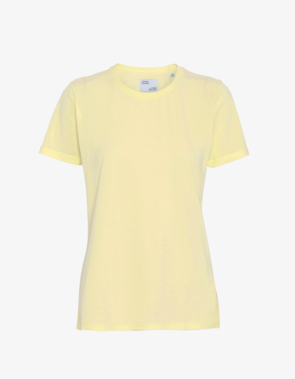 Colorful Standard Women Light Organic Tee Women T-shirt Soft Yellow