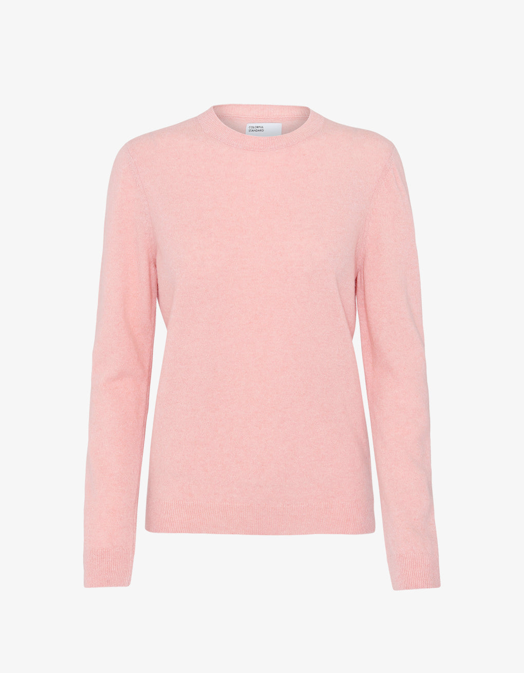 Colorful Standard Women Merino Wool Crew Women Merino Crewneck Faded Pink