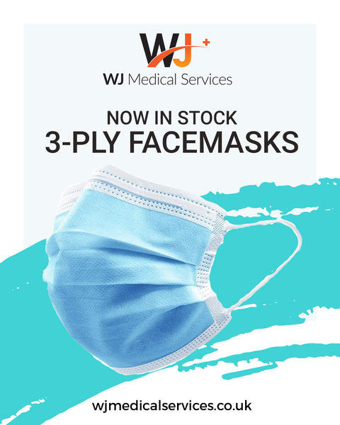 3 PLY FACE MASKS MEDICAL GRADE