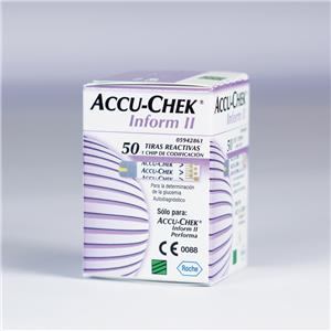 Accu-Chek Inform II Test Strips