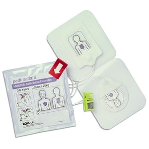 Zoll Pedi-Padz II Infant or Child Defibrillation Electrodes