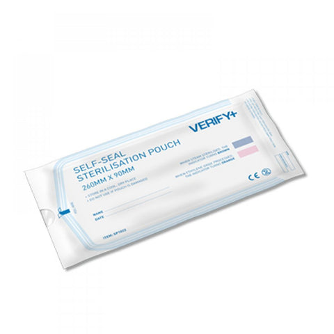VERIFY+ Self Seal Sterilsation Pouches