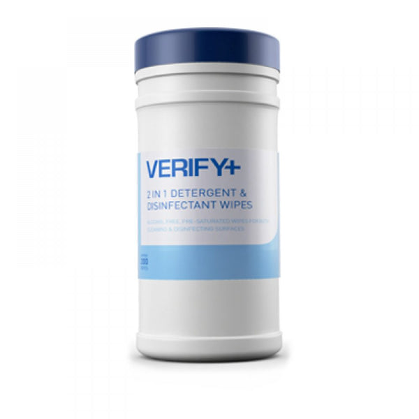 VERIFY+ Cleaning and Disinfection Wipes