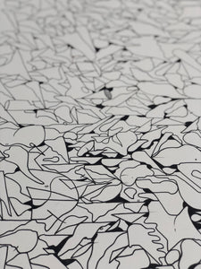 ADO DRAWING No 21 // A2 INK DRAWING // LARGE ORIGINAL