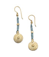 Orissa Aru Brass Earrings by Matr Boomie - origintraders
