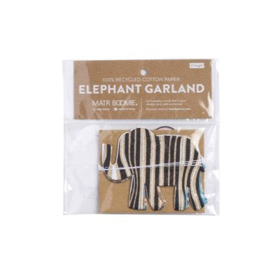 Metallic Cotton Elephant Garland - Matr Boomie (H) - origintraders
