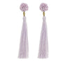 The Rosette Tassel Earring, Seashell - Aid Through Trade - origintraders