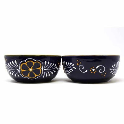 Half Moon Bowls - Blue, Set of Two - Encantada - origintraders