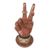 Peace Hand Jewelry Holder by Matr Boomie - origintraders