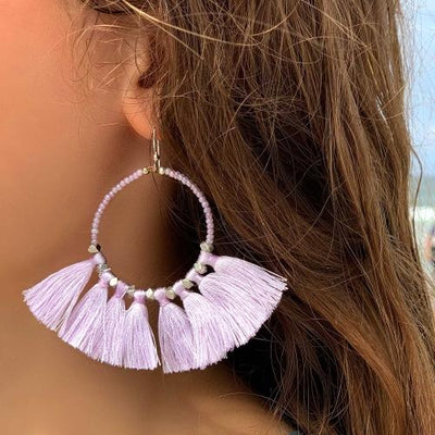 The Dreamer Earring, Seashell - Aid Through Trade - origintraders