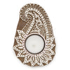 Aashiyana Tea Light Holder - Paisley - Matr Boomie (Candle) - origintraders