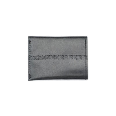 Sustainable Leather Wallet - Black - Matr Boomie (W) - origintraders